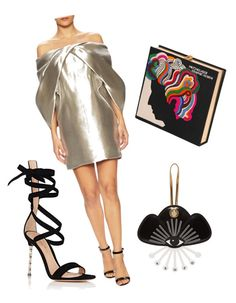 """""""Monse star"""" by lawyerprincess on Polyvore featuring Monse, Olympia Le-Tan, Kenzo and Gianvito Rossi"""