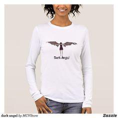 dark angel - women long sleeve t-shirt
