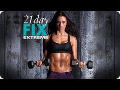 21 Day Fix EXTREME Workout – Rock A Serious Hardbody - YouTube