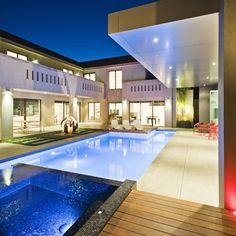 Piscinas contemporary pool
