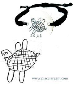 #regalo original #pulsera personalizada #regalo personalizado #Tortugas
