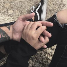 And play with your fingers ): Tumblr Couple Pictures, Parejas Goals Tumblr, I Want Love, Love Always Wins, Tumblr Love, Hands Together, Photography Poses For Men, Just Friends, Cute Gay