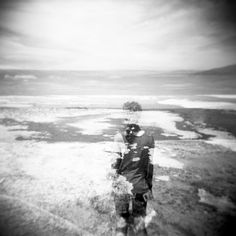 All of the photos below are taken with a Holga GCFN - Fujifilm Neopan Acros -100 120 mm Black and White Film. Locations include Cannon Beach, Yellowstone National Park, & various East Coast beaches.