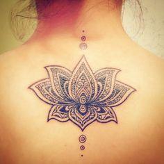 Mandala Lotus, Geometric tattoo