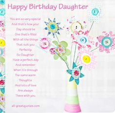 Free Birthday Cards For Daughter