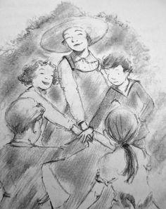 From: MISS EMILY by Burleigh Mutén, illustrated by Matt Phelan.