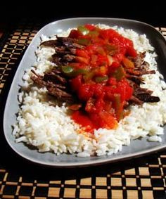 How to make Shredded Beef in Sauce - Ropa Vieja - Simple, Easy-to-Make Cuban, Spanish, and Latin American Recipes with Photos