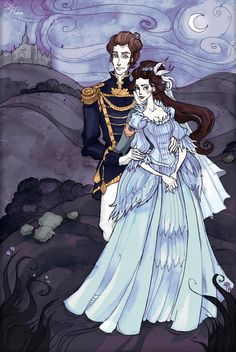 Elysia and Tristan by IrenHorrors on deviantART