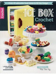 Food Amigurumi - Ice Box Crochet - Crochet Pretend Play Food