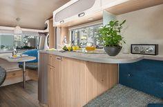 Springbank Leisure: T Caravan Models: T 400 Table Seating, Double Beds, Caravan, Kitchen, Garage, Models, Home Decor, Life, Upholstery Fabrics