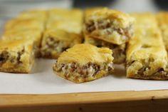 The Kitchen is My Playground: 3-Ingredient Crescent Sausage Bites