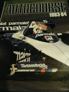 AUTOCOURSE 1983 84 AYRTON SENNA ALAIN PROST NIGEL MANSELL NELSON PIQUET TOLEMAN