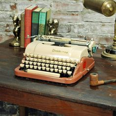 Underwood Quiet Deluxe, $318, now featured on Fab.  always wanted one of these