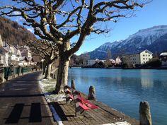 We miss the sunny weather in Interlaken.