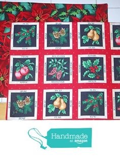 Christmas Holiday Botanicals Reversible Placemats, Set of 4 from ColdStreamCrafts http://www.amazon.com/dp/B0173XFKOW/ref=hnd_sw_r_pi_dp_ls-kwb0BYRF2Y #handmadeatamazon