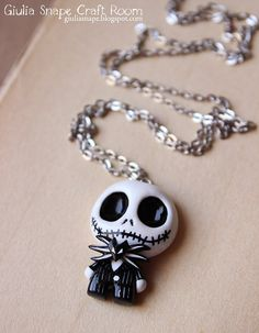 Jack Skellington Nightmare before Christmas by Giulia Snape on Etsy