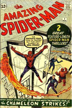 """Каждый день новый комикс. Обзор на комикс """"The Amazing Spider-Man"""" выпуск 1 (1963) на русском языке."""