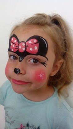 Face painting Minie