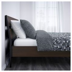IKEA - TRYSIL Bed frame dark brown, black