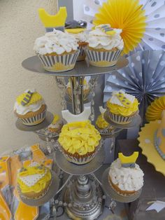 Yellow & Grey  Gender Reveal Party Ideas | Photo 9 of 34