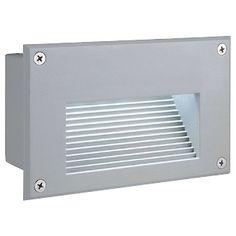 SLV BRICK LED 16 Edelstahl warm weiße LED