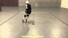 Backward Hockey Stop