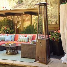 Empire Patio Heater.  Another party deck option.  Frontgate