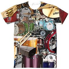 When you just want to bang on the drums all day... wear this shirt!