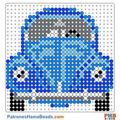 """Képtalálat a következőre: """"vw beetle crochet pattern"""" Hama Beads Patterns, Loom Patterns, Beading Patterns, Crochet Patterns, Knitting Patterns, Embroidery Patterns, Plastic Canvas Coasters, Plastic Canvas Crafts, Plastic Canvas Patterns"""