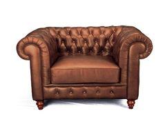 Chesterfield Kensington Armchair - Balmoral Cinnamon