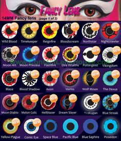 Phantasee Crazy lens is are designed to offer funky and wild looking eyes that match with your cosplay costume. Costume Contact Lenses, Eye Contact Lenses, Coloured Contact Lenses, Halloween Contacts, Halloween Make Up, Cool Contacts, Best Colored Contacts, Karneval Outfits, Eyes