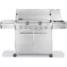 WEBER Summit S-620 LP SS Gas Grill | Gas Grills | Bar-be-cue