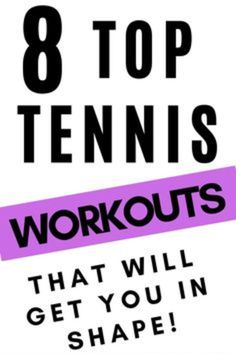 Are you looking for the top tennis workouts to get you in shape? Try these simple but effective workouts that will get you stronger and in shape for the upcoming tennis season. Tennis Rules, Tennis Tips, Sport Tennis, Tennis Lessons, Flexibility Workout, Strength Workout, Strength Training, How To Run Faster, How To Get