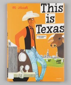 Take a look at this This Is Texas Hardcover by Random House on #zulily today!