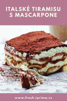 Tiramisu, Sweets, Ethnic Recipes, Fit, Mascarpone, Bakken, Gummi Candy, Shape, Candy