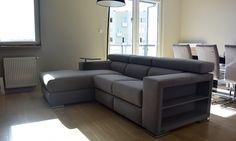 Funkcjonalny narożnik Makalu w wymiarze 230 x 170 cm #sofa #modern #design