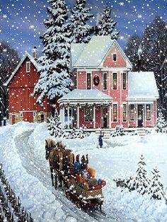Зима - анимация на телефон №1105731