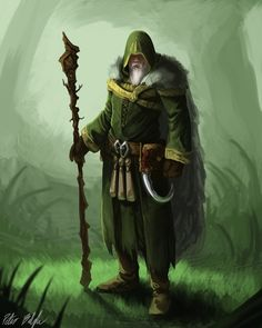 Druid concept by PeterPrime
