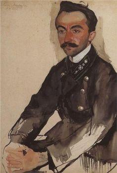 Portrait of E.M. Eygelya - Zinaida Serebriakova