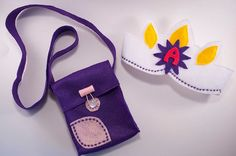Tangled Rapunzel birthday princess crown and purple Flynn Ryder satchel... <3