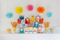 Display Idea using cute colors and candy