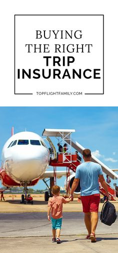While sunscreen, passports and clothes may top your list, trip insurance is something that many of us forget about. Here's how to get the right coverage. Toddler Travel, Travel With Kids, Family Travel, Road Trip With Kids, Family Road Trips, Travel Money, Travel Tips, Shopping Travel, Travel Destinations