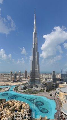 You'll see Dubai from above on the observation deck of the Burj Khalifa, the world's tallest building.