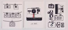 photography postcards / oupas!