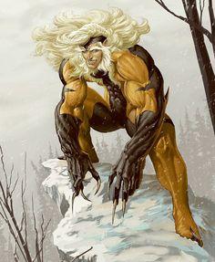 Dentes-de-Sabre. Victor Creed é arque-inimigo de Wolverine, ele participou do grupo Carrascos de Mutantes, criados pelo Sr. Sinistro, que promoveram o Massacre de Mutantes, onde a população Morlock quase foi extinta. Um incorrigível psicopata homicida, Dentes-de-Sabre quase foi morto por Wolverine, que cravou suas garras no cérebro de Creed. Acolhido pelos X-Men, ele começou um tratamento com o Professor X, que tencionava curar sua sociopatia. O treinamento porém, foi completamente ineficaz…