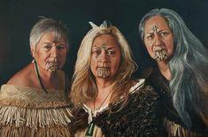 maori tattoos in new zealand Polynesian People, Polynesian Art, Polynesian Culture, We Are The World, People Of The World, Maori Face Tattoo, Maori Tattoos, Maori Words, Maori People