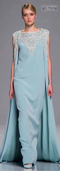 Georges Hobeika Spring 2015 Haute Couture