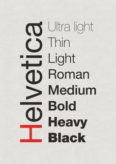 Helvetica Typography Poster