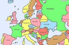 40 Maps That Will Help You Make Sense of the World - Map of Europe Showing Literal Chinese Translations for Country Names Poland Germany, Europe Continent, Map Pictures, Country Names, Printable Maps, Spain And Portugal, European Countries, Retro, Hetalia