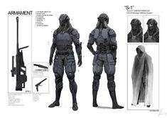 Space Vagabonds: Sniper by `ukitakumuki - http://ukitakumuki.deviantart.com